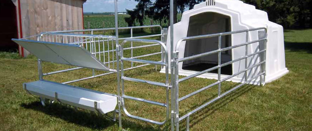 Group Calf Hutch System