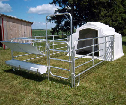 Duralume Group Calf Hutches