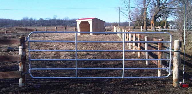 Duralume Standard Gate Paddock Application