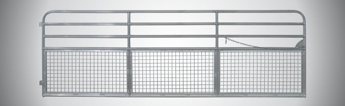 Aluminum Tubing Sizes >> Duralume | Farm Mesh Sheep & Goat Gate, Lightweight Aluminum Gates